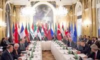 Termin für die nächste Verhandlungsrunde über Syrien bestimmen