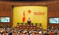 Parlamentssitzung geht zu Ende