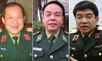 Drei Offiziere der vietnamesischen Volksarmee werden befördert