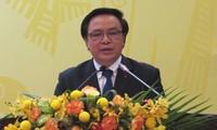 Pressekonferenz über den 12. Parteitag der KPV für internationale Vertretungen und Organisationen