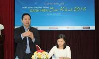 Sao Khue-Preis 2016: Förderung der Informationstechnologie und Kommunikation