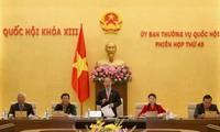 Eröffnung der 45. Sitzung des Ständigen Parlamentsausschusses
