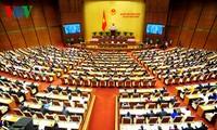 Eröffnung der 11. Parlamentssitzung der 13. Legislaturperiode