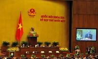 Parlament diskutiert über die sozialwirtschaftliche Lage