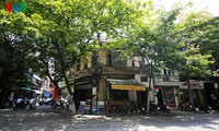 Altstadt Hanoi in der Vergangenheit und in der Gegenwart