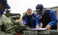 Russland dementiert den Einsatz der OSZE-Polizei in der Ostukraine