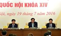 Personalfrage ist Hauptthema der ersten Parlamentssitzung der 14. Legislaturperiode