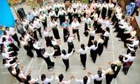 Bearbeitung eines Dokumentes über den Xoe Thai-Tanz