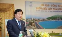 Ba Ria-Vung Tau soll sich erneuern, um sich in einem beliebten Standort der Investoren umzuwandeln