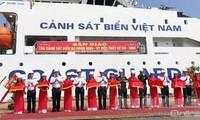 Oberkommando der vietnamesischen Seepolizei überreicht Mehrzweckschiff DN-2000