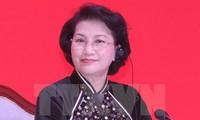 Parlamentspräsidentin Nguyen Thi Kim Ngan nimmt am Weltgipfel der Parlamentspräsidentinnen teil