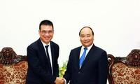 Premierminister Nguyen Xuan Phuc empfängt den thailändischen SCG-Vorstandsvorsitzenden