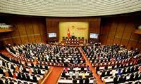 Parlamentarier diskutieren über das Strafgesetzbuch