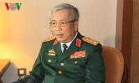 Generaloberst Nguyen Chi Vinh trifft Vertreter der vietnamesischen Vertretungen im Ausland
