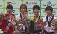 Taekwondo Vietnams gewinnt Silbermedaille bei Taekwondo-Weltmeisterschaft