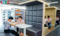 Hightech-Bibliothek bringt den Studenten Motivation