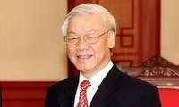 KPV-Generalsekretär Nguyen Phu Trong beginnt Besuch in Indonesien und Myanmar
