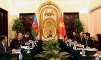 Diplomatisches Gespräch zwischen Vietnam und Aserbaidschan