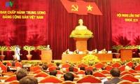 Zweiter Arbeitstag der 6. Sitzung des Zentralkomitees der KPV