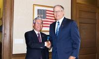 Vietnamesischer Botschafter in USA Pham Quang Vinh tagt mit Unternehmen in Washington