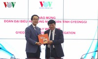 Verstärkung der Zusammenarbeit zwischen VOV und der südkoreanischen Provinz Gyeonggi