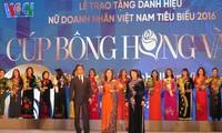 Ehrung der hevorragenden vietnamesischen Unternehmerinnen 2016