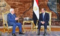 Ägypten und Palästina wollen den Friedensprozess im Nahen Osten wiederaufnehmen