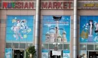 Einzigartige Farben der russischen Märkte in Ho Chi Minh Stadt