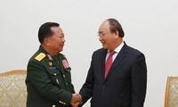 Verstärkung der traditionellen und freundschaftlichen Beziehungen zwischen Vietnam und Laos