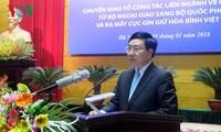 Vorstellung der Behörde für Friedenschutz Vietnams
