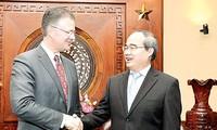Leiter von Ho Chi Minh Stadt würdigt die umfassende Zusammenarbeit zwischen Vietnam und den USA