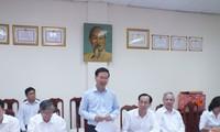 """Leiter der Aufklärungsabteilung beglückwünscht Mitarbeiter der """"Software-City"""" Quang Trung"""