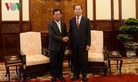 Staatspräsident Tran Dai Quang empfängt den laotischen Vizesicherheitsminister