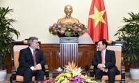 Verstärkung der freundschaftlichen Beziehungen zwischen Vietnam und USA
