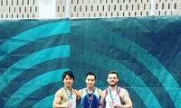 Vietnamesisches Turnen-Team gewann zwei Goldmedaillen bei dem World Challenge Cup