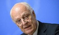 UN-Sonderbeauftragte bemüht sich um Förderung des Verfassungsprozesses in Syrien