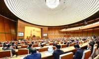 Abschluss der 5. Sitzung des Parlaments