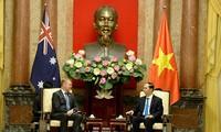 Staatspräsident Tran Dai Quang empfängt den Präsident des australischen Repräsentantenhauses