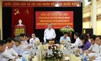 Ständiger Vizepremierminister Truong Hoa Binh tagt mit Vertretern der Behörde in Tuyen Quang
