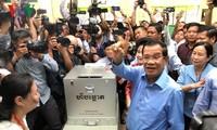 Kambodscha veröffentlicht das vorläufige Wahlergebnis