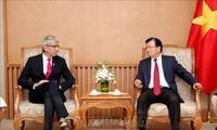 Vizepremierminister Trinh Dinh Dung: Förderung der Zusammenarbeit der Unternehmen aus Vietnam und Frankreich
