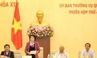 Eröffnung der 28. Sitzung des Ständigen Parlamentsausschusses am 15. Oktober