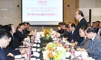 Verstärkung der Handelsbeziehungen zwischen Vietnam und China