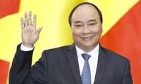 Premierminister Nguyen Xuan Phuc nimmt am 33. ASEAN-Gipfeltreffen teil