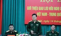 Freundschaftliche Begegnung der Grenzverteidigung zwischen Vietnam und China