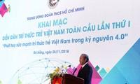 Abschluss des 1. Forum der jungen vietnamesischen Akademiker: Junge vietnamesische Akademiker in 4.0-Ära