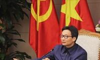 Vizepremierminister Vu Duc Dam tagt mit der Sonderverwaltung für Umsetzung der Sozialpolitik der Regierung