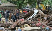Indonesien beseitigt dringend die Tsunami-Folgen