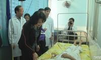 Vizestaatspräsidentin Dang Thi Ngoc Thinh nimmt am Gründungstag des Allgemeinen Krankenhauses der Provinz Tien Giang teil