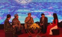 """Vietnamesisches Friedensschutz-Zentrum veranstaltet Austauschprogramm """"Die friedlichen Vögel"""""""
